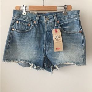 Levi's 501 denim shorts - New with tags size 27